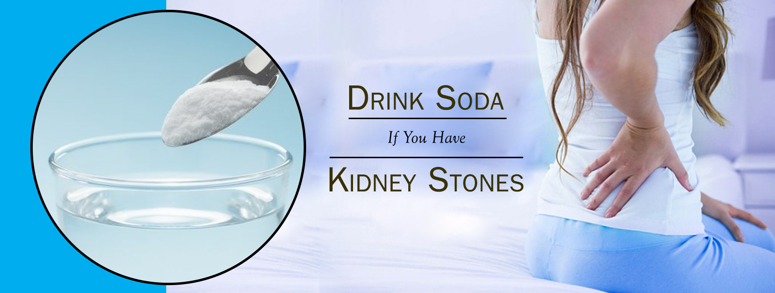 Can you drink soda water if you have kidney stones?