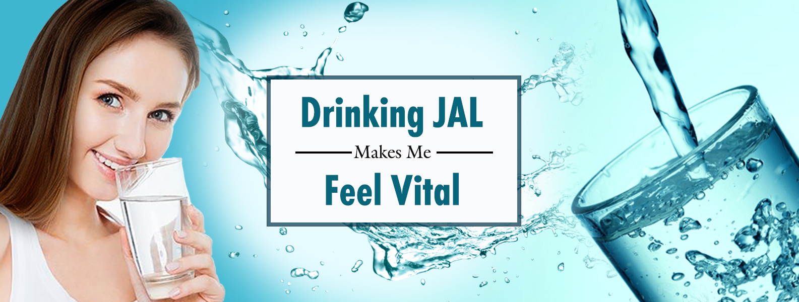 Drinking JAL makes me feel vital.