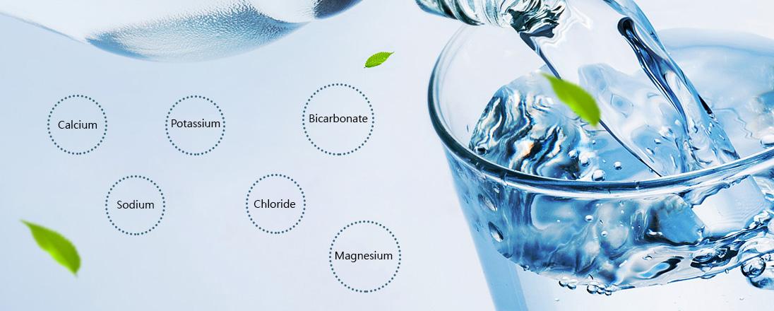 Hidden treasure- characteristics of natural mineral water