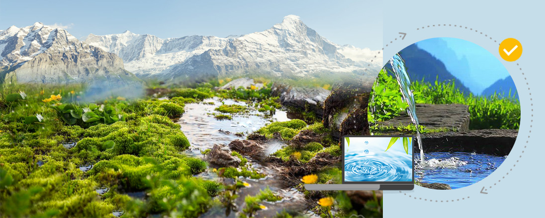 Natural mineral water vs Mountain spring water
