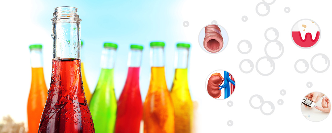 Tasty unhealthy drinks-bad effects of soft drinks