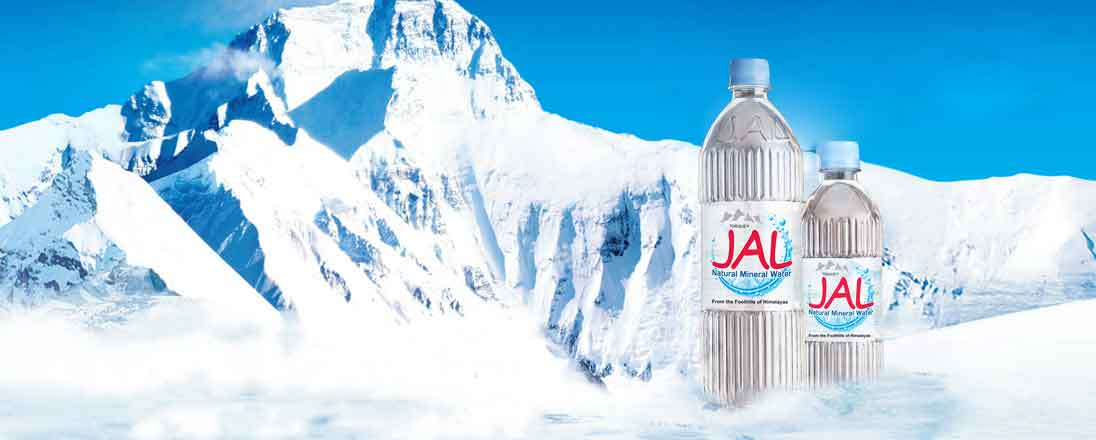 Naturally Balanced Water from the Himalayan Mountains